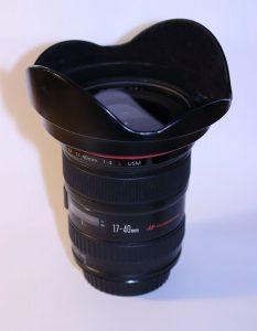 Gør sig bedst på full-frame huse (EOS kamerahuse fra 6, 5 eller 1D serierne) - her er den til gengæld en øjenåbner.
